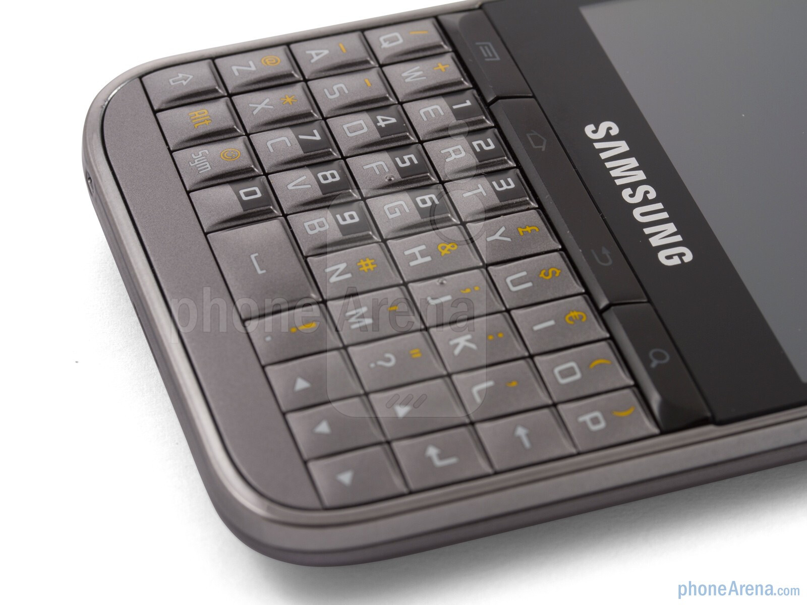 Camera Samsung Qwerty Android Phone the qwerty keyboard image from samsung galaxy pro review with a blackberry esque form factor 3mp autofocus camera and 2 8 capacitive screen also packs 4 tiered keyboa