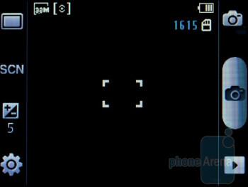 Camera interface - Samsung Galaxy Pro Review