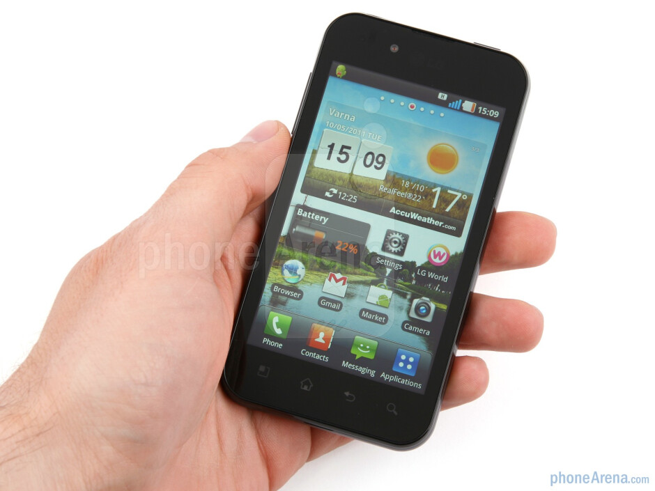 The LG Optimus Black has been designed for the style-conscious audience in mind - LG Optimus Black Review