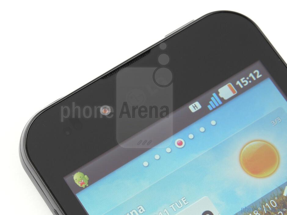 Front-facing camera - LG Optimus Black Review