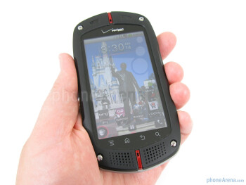 The Casio G'zOne Commando is a rugged candy-bar style Android smartphone - Casio G'zOne Commando Review