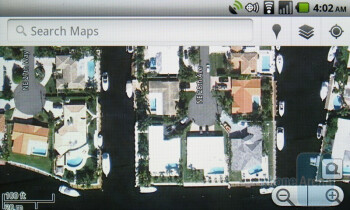 Google Maps - Casio G'zOne Commando Review