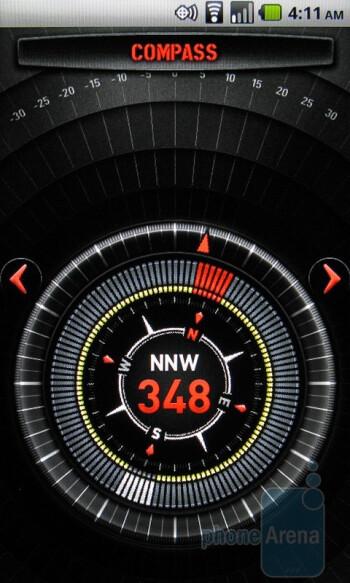 The Casio G'zOne Commando includes their G'zGear app - Casio G'zOne Commando Review
