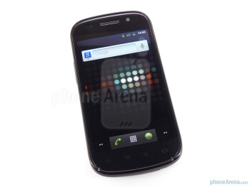 The Google Nexus S 4G has 4 inch Super AMOLED display - Google Nexus S 4G Review