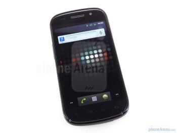 The Google Nexus S 4G has 4 inch Super AMOLED display - Google Nexus S 4G Review