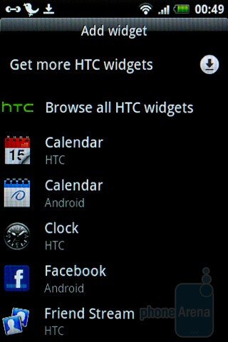HTC's widgets add a huge amount of functionality - HTC Wildfire S Review