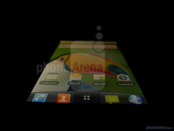 "The LG Phoenix sports a 3.2"" HVGA capacitive touchscreen - LG Phoenix Review"