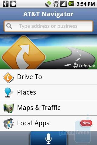 AT&T Navigator - LG Phoenix Review