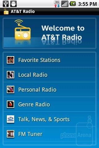 AT&T Radio - LG Phoenix Review