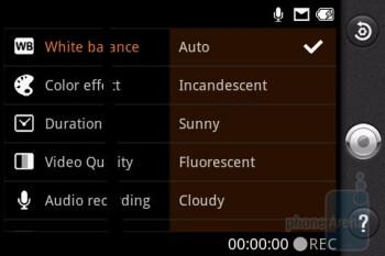 Camera interface - LG Phoenix Review
