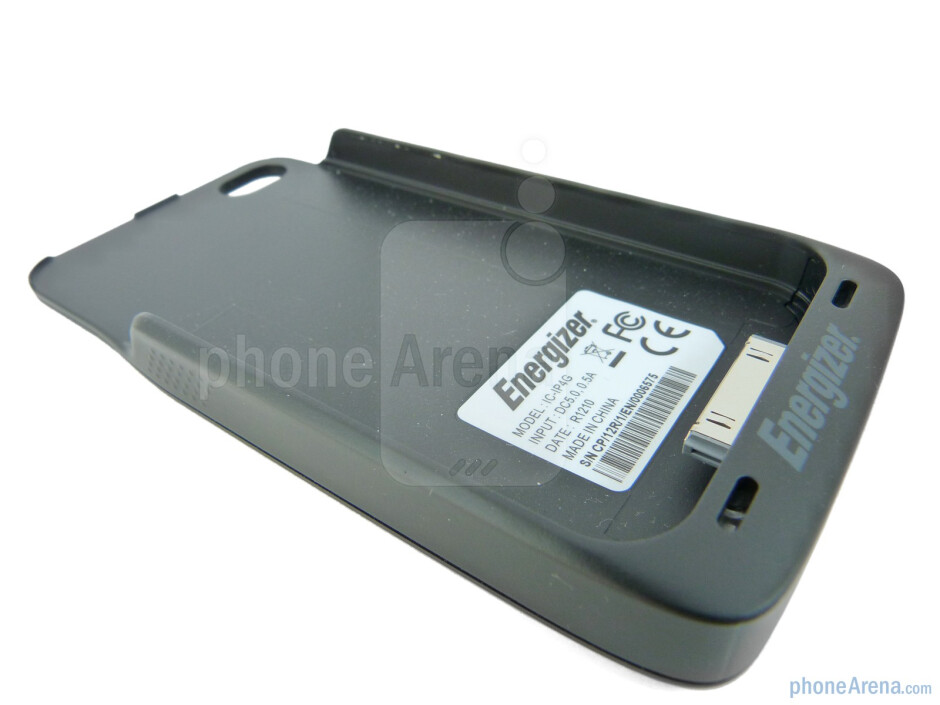 The Energizer Qi compatible case for the iPhone 4 - Energizer Inductive Charger Review