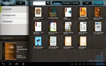 Book Reader - Asus Eee Pad Transformer Review