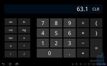 Calculator - Asus Eee Pad Transformer Review