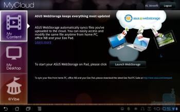 MyCloud - Asus Eee Pad Transformer Review