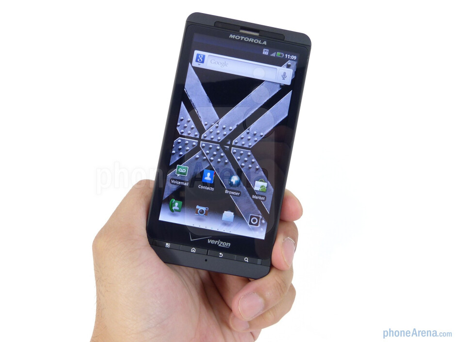 The Motorola DROID X2 is almost an exact facsimile to its predecessor - DROID X2 Review