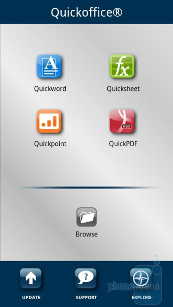 Apps on the Motorola DROID X2 - Motorola DROID 3 vs Motorola DROID X2