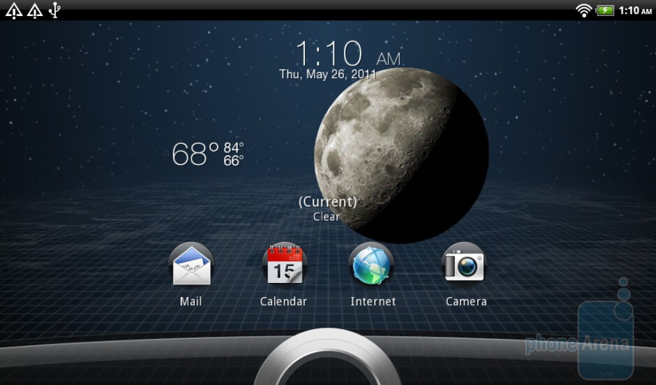 The improved lock screen - HTC Flyer Review