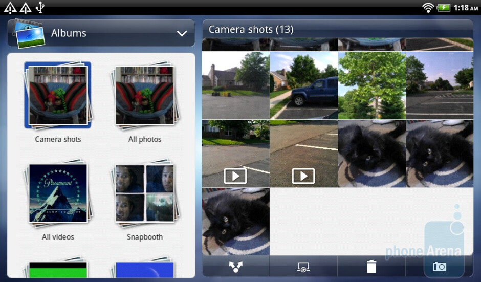 The Gallery app - HTC Flyer Review