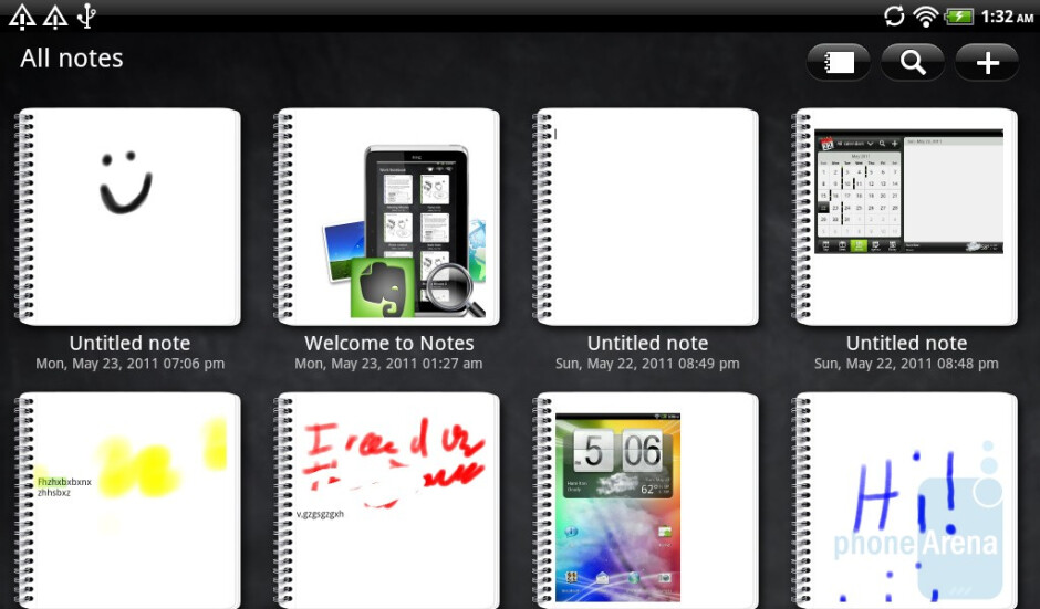 The Scribble app - HTC Flyer Review
