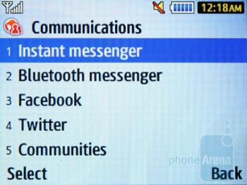Communications hub - Samsung Ch@t 335 Review