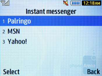 Instant messenger - Samsung Ch@t 335 Review