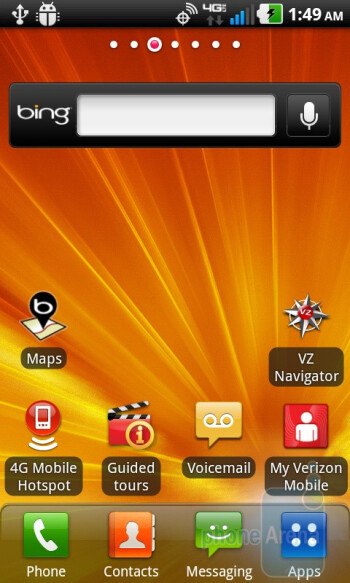 The Optimus UI 2.0 is on top of Android 2.2.2 - LG Revolution Review