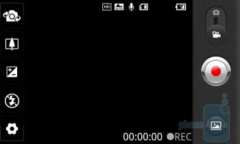 Camera interface - LG Revolution Review