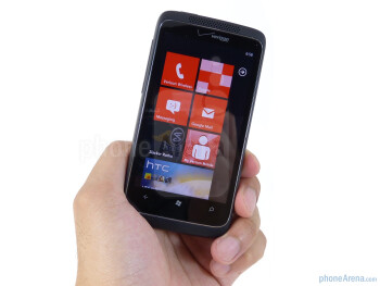 The HTC Trophy is an exact facsimile to the European version, but it sports a red theme internally - HTC Trophy Review
