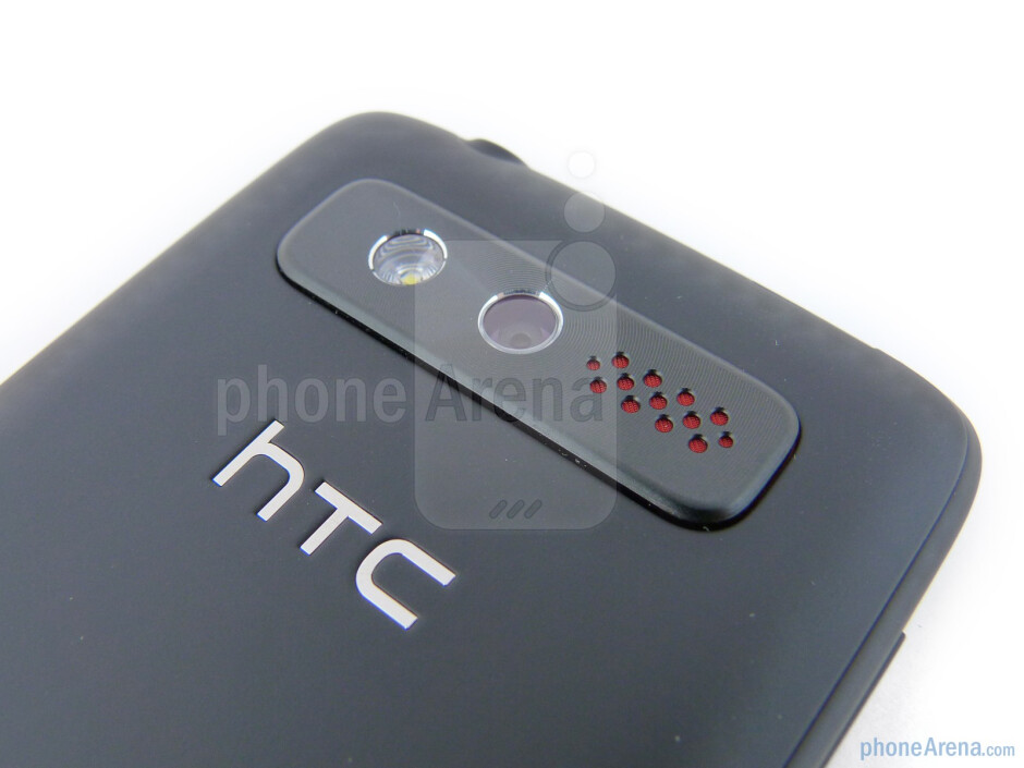 The sides of the HTC Trophy - HTC Trophy Review