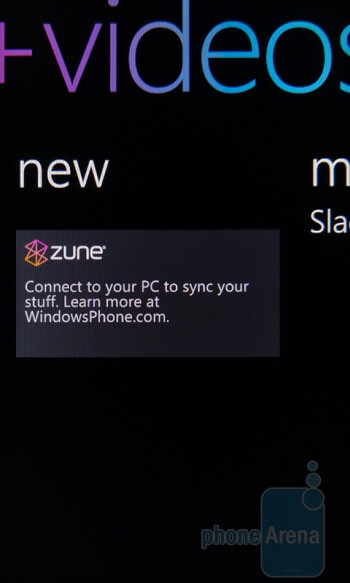 Zune - HTC Trophy Review