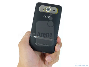 The HTC HD7S employs the same svelte and solid looking industrial design of the original model - HTC HD7S Review
