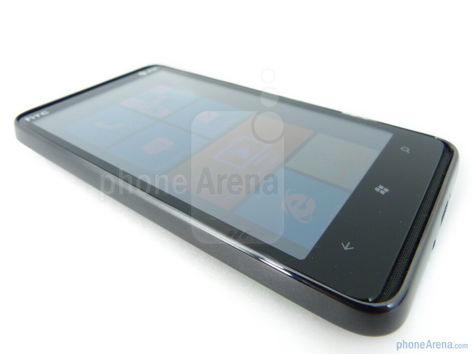 """The HTC HD7S sports a 4.3"""" WVGA Super LCD display - HTC HD7S Review"""