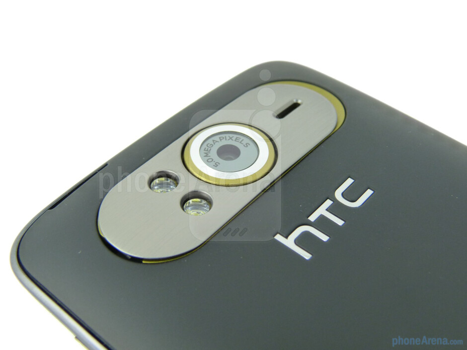 The back of the HTC HD7S - HTC HD7S Review