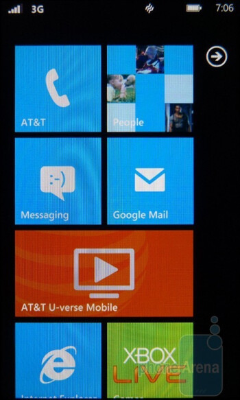 """The HTC HD7S comes with the """"NoDo"""" update out of the box - HTC HD7S Review"""