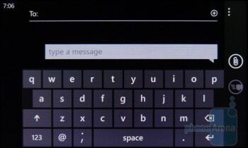 On-screen keyboard - HTC HD7S Review