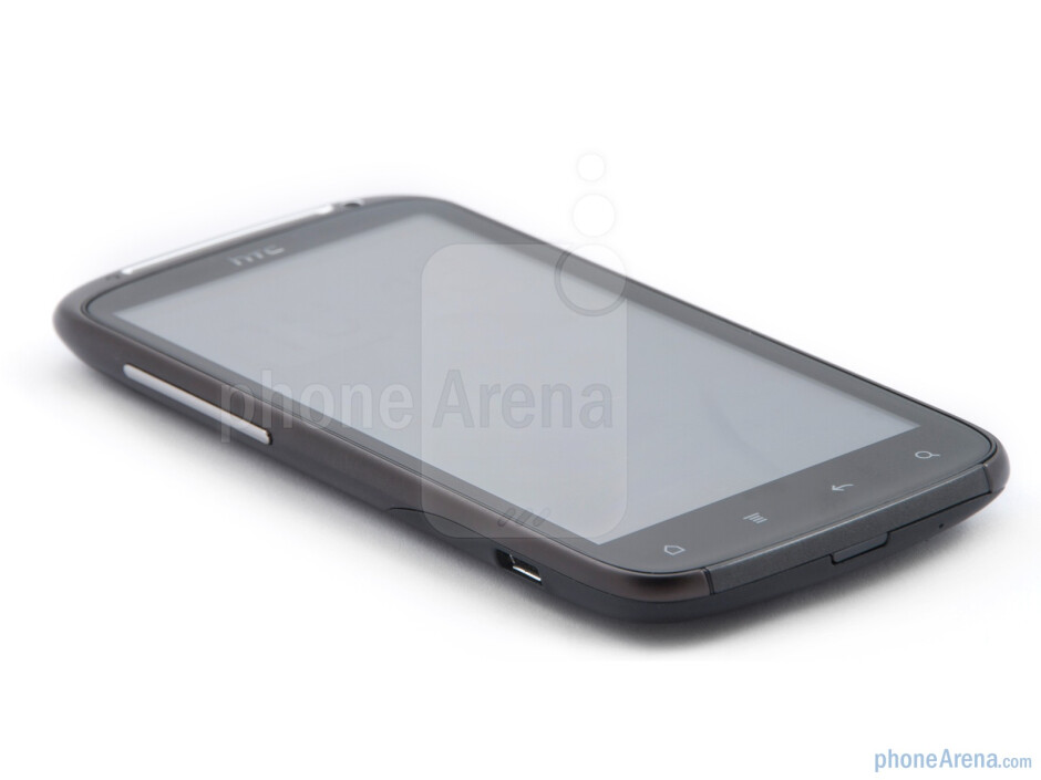 The phone has 4.3 inch Gorilla Glass display - HTC Sensation Review