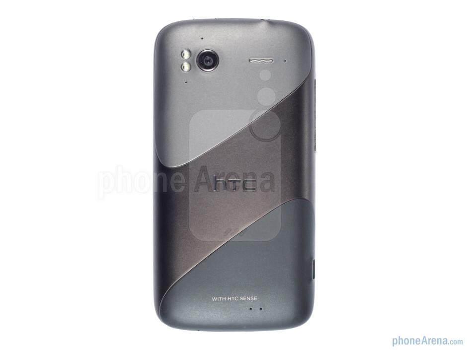 The back side of the HTC Sensation - HTC Sensation Review