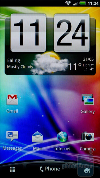 The HTC Sensation has HTC Sense 3.0 on top of Gingerbread - HTC Sensation Review