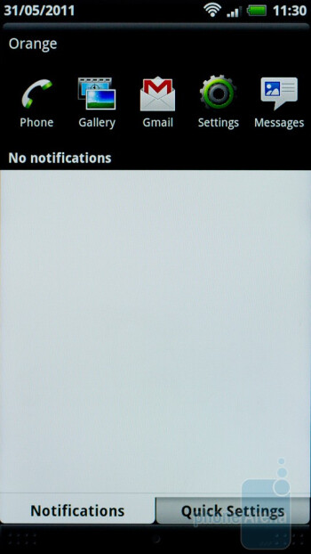 Notifications - HTC Sensation Review