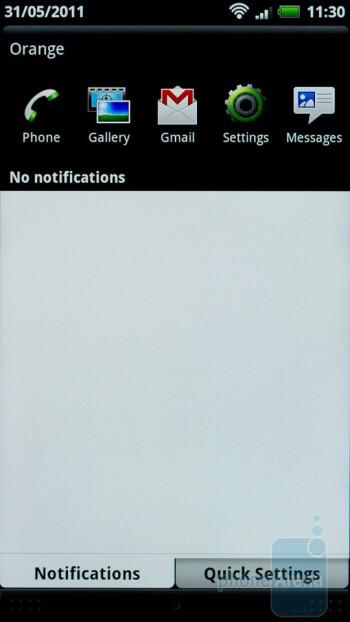 Notifications - HTC Sensation Review