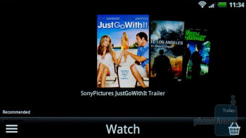 The video streaming service Watch - HTC Sensation Review