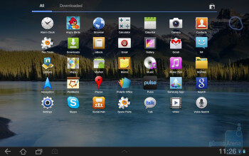 The Samsung GALAXY Tab 8.9 runs Android 3 - Samsung GALAXY Tab 8.9 Preview