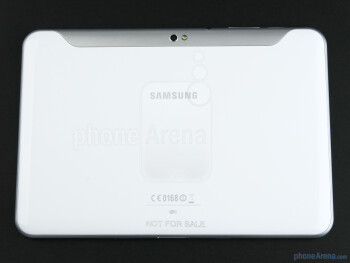 The Samsung GALAXY Tab 8.9 feels tightly constructed - Samsung GALAXY Tab 8.9 Preview