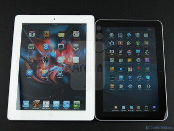 Samsung GALAXY Tab 8.9 (right),Apple iPad 2 (left) - Samsung GALAXY Tab 8.9 (top), Samsung GALAXY Tab 10.1 (middle),Apple iPad 2 (bottom) - Samsung GALAXY Tab 8.9 Preview
