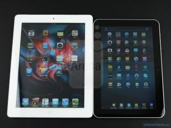 Samsung GALAXY Tab 8.9 (right),Apple iPad 2 (left) - Samsung GALAXY Tab 8.9 (top), Samsung GALAXY Tab 10.1 (middle),Apple iPad 2 (bottom) - Samsung GALAXY Tab 8.9 Preview
