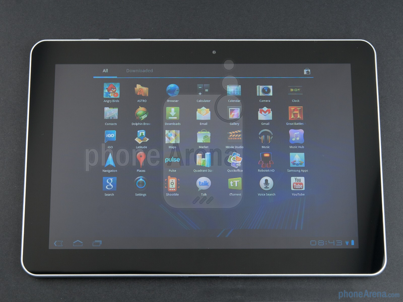 samsung galaxy tab 10 1 preview phonearena. Black Bedroom Furniture Sets. Home Design Ideas