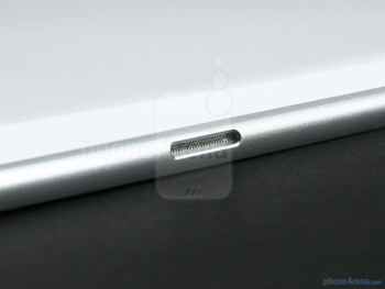 The right speaker - Samsung GALAXY Tab 10.1 Review