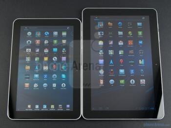 Samsung GALAXY Tab 10.1 (Right), Samsung GALAXY Tab 8.9 (Left) - Samsung GALAXY Tab 10.1 Preview