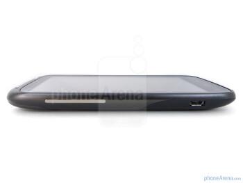 The sides of the HTC Sensation 4G - HTC Sensation 4G Review