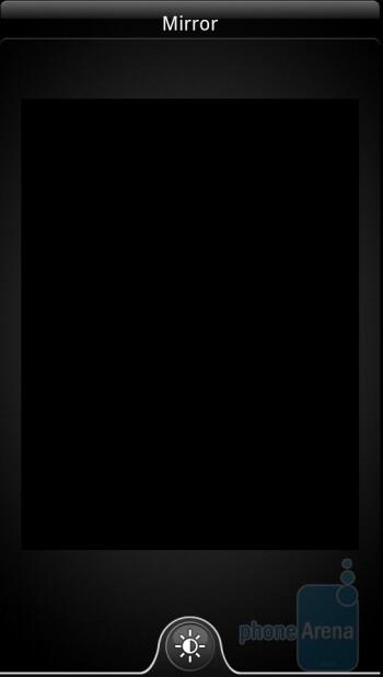 Mirror - Preinstalled applications on the HTC Sensation 4G - HTC Sensation 4G Review